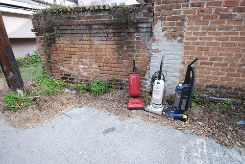 Savannah back alley find, Vacuum Party | by Keep My Day Job