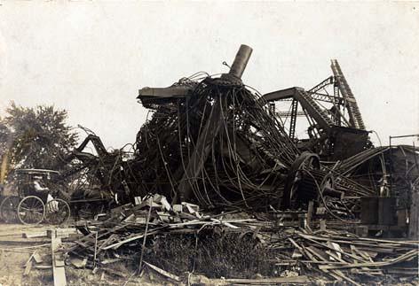 Image result for ferris wheel chicago dismantling