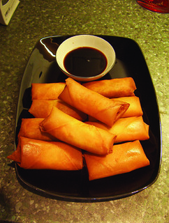 Chinese spring rolls | by Food, Fash, Fit