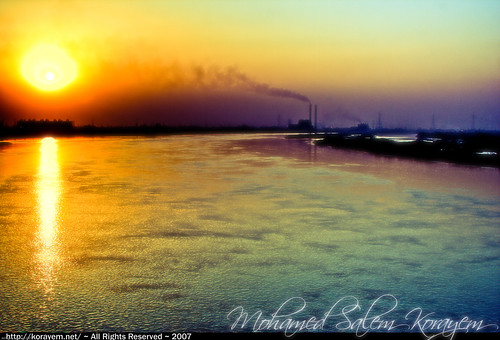 road sunset sun nature digital photoshop work canon river landscape geotagged 350d rebel xt factory smoke egypt ring nile cairo pollution digitalrebelxt giza hdr hdri lightroom waterscape photogallery pollute gizah blueribbonwinner الطريق photomatix supershot jiza jizah الجيزة 6xp نهر النيل نيل مصنع colourartaward artlegacy theperfectphotographer korayem الدائرى geo:lat=30133835 geo:lon=31203773