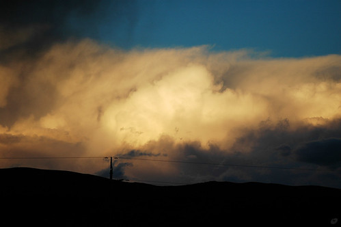 sunset cloudy 日落 mato 云 青海 qinghai 唐蕃古道 玛多 tangtibetancientroad