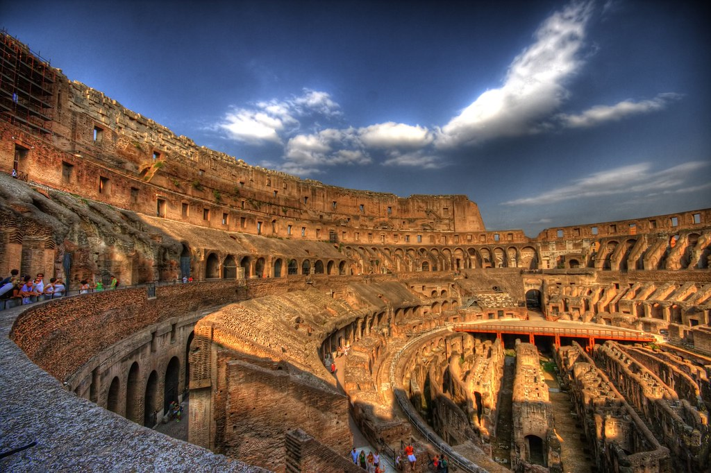 Colosseum Floor by vgm8383