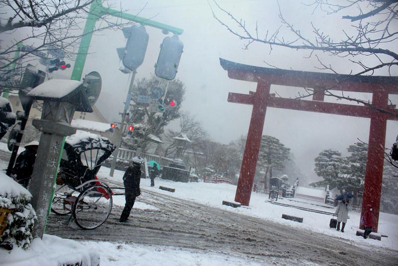 雪の鎌倉_33