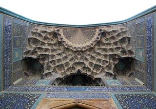 imam khomeini mosque, isfahan october 2007   by seier+seier
