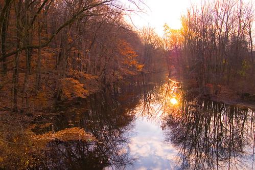 sunset lake wet water newjersey pond patriot morristown morriscounty patriotspath aplusphoto diamondclassphotographer waterbwet