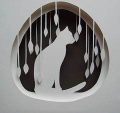gatto nella neve/snow cat | by mollyjey