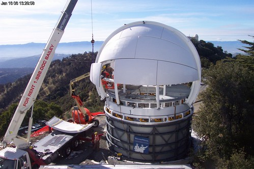Lick Observatory's Automated Planet Finder Under Construction | by Uncle Bex