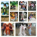 A selection of the Gromits we found on our Gromit Hunt over the last few weeks