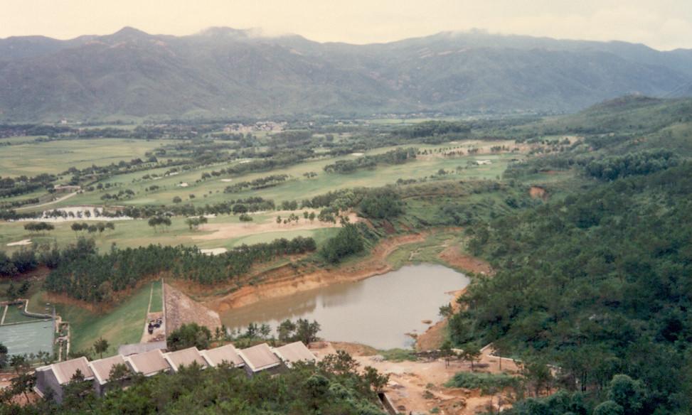 Hot spring resort and golf course, Sanxiang, Zhongshan City, Guangdong