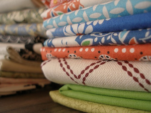 stacks of fat quarters | by the workroom