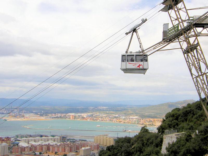 Cable Car, Gibraltar