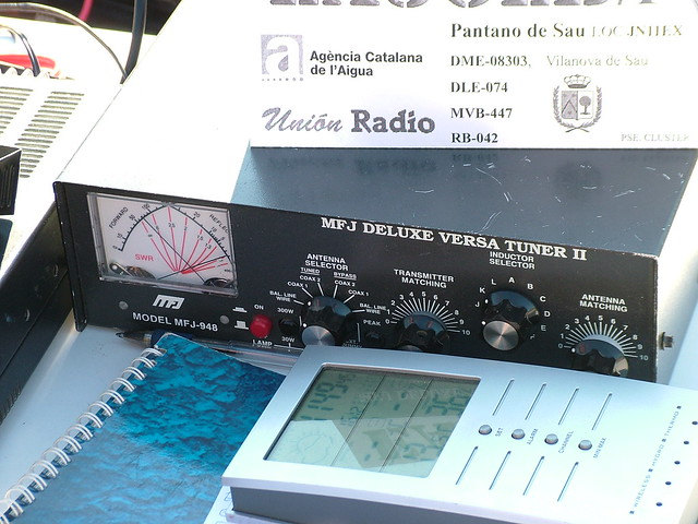Sintonitzador d'antena de l'estació EA3GLB