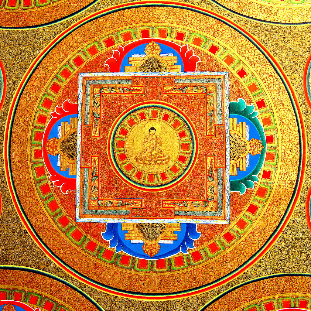 meditations-thangka-ausschnitt | a beautiful video ~*~ Namas… | Flickr