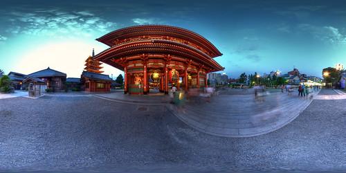 Hozo-mon gate, Senso-ji temple