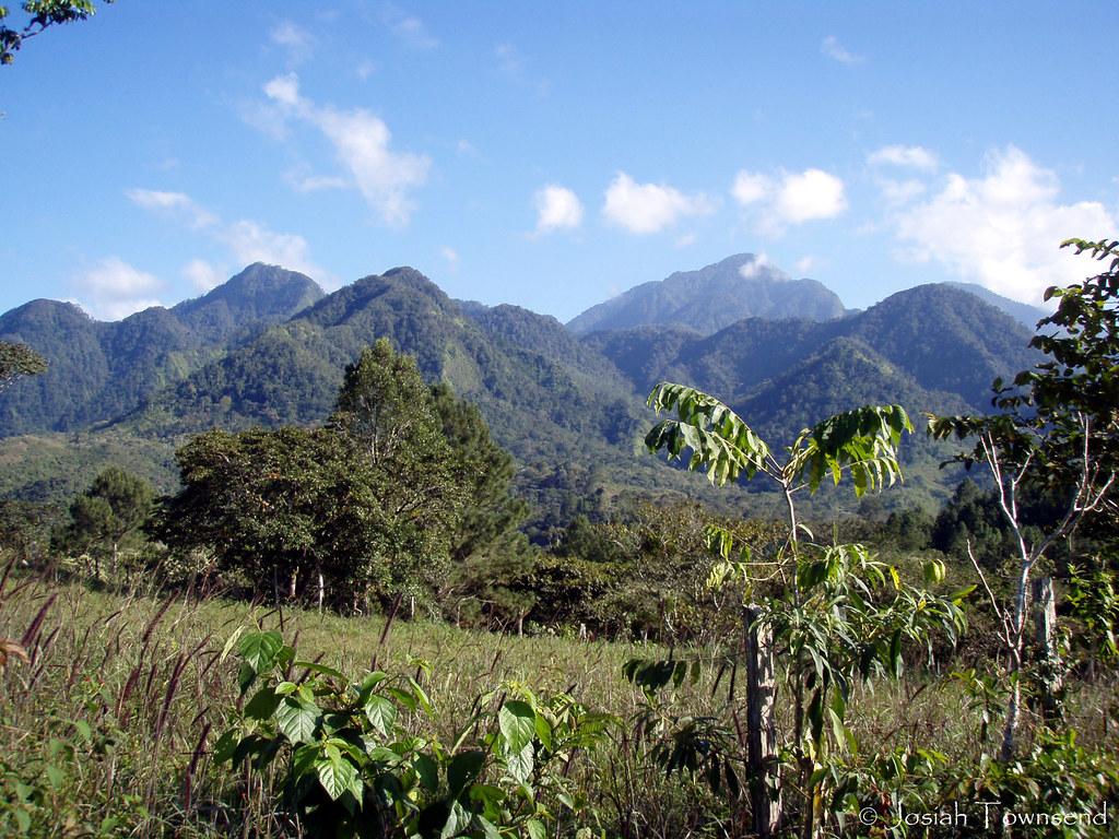 Cerro Azul Meambar, Honduras   The peaks of Cerro Azul Meamb