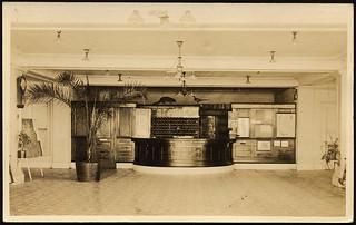 Hot Lake Sanatorium Post Office, 1922