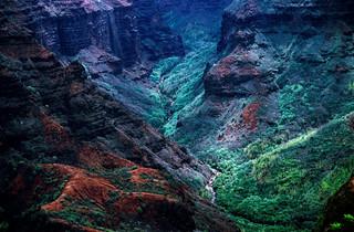 Michi 9--Waimea Canyon--Kauai--May 1999—DxO | by John Rusk