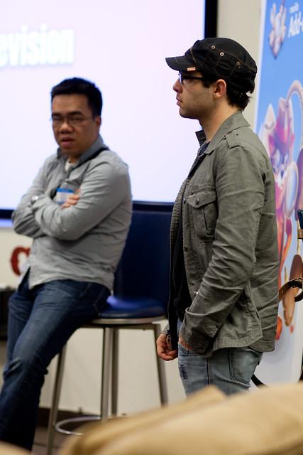 Aza Raskin and Nick Nguyen