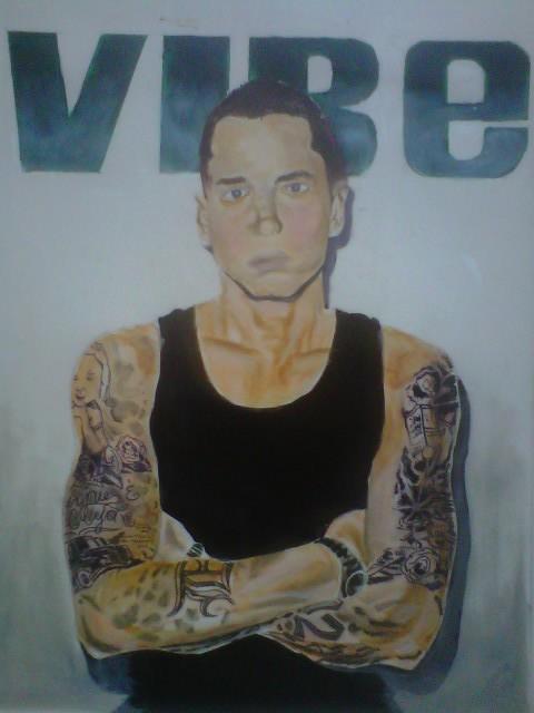Eminem Drawing   Eminem, shady, records, shady, aftermath, M