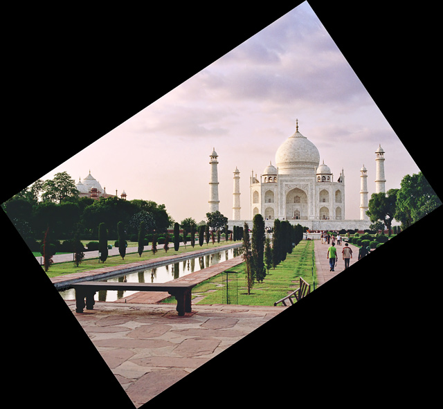Saying Goodbye to Taj Mahal