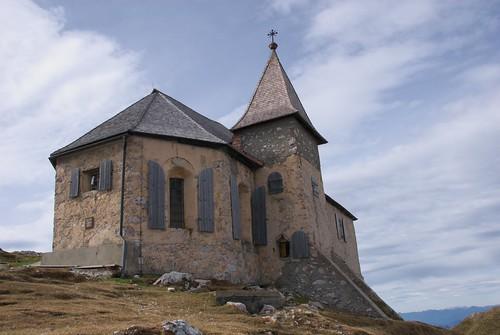 Kirche auf den Dobratsch