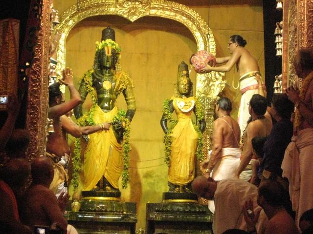 The Final Holy Water Thirumanjanam