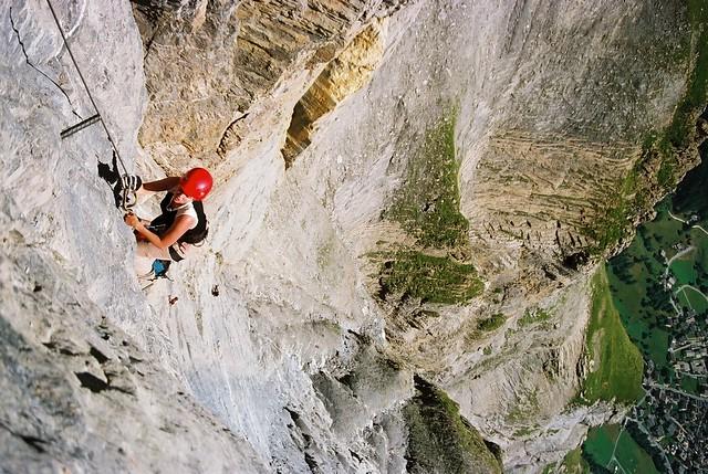 Klettersteig Leukerbad : Grosser daubenhorn klettersteig klettersteige via ferratas in
