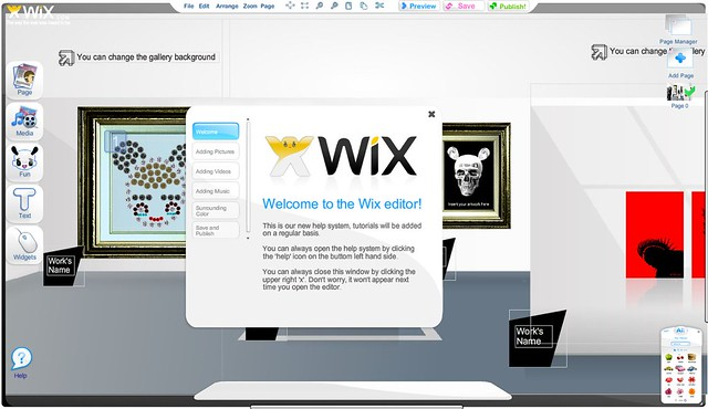 Web Design Software - Wix