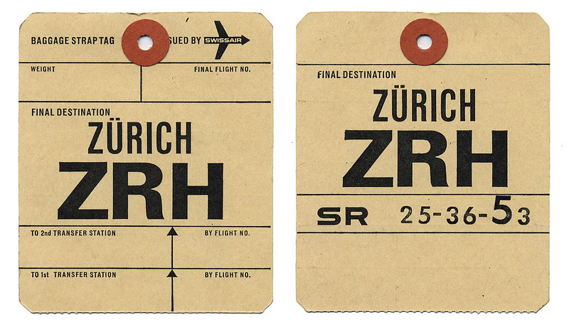 swissair tag
