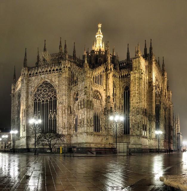 Milan - Il Duomo - 12-01-2008 - 00h11