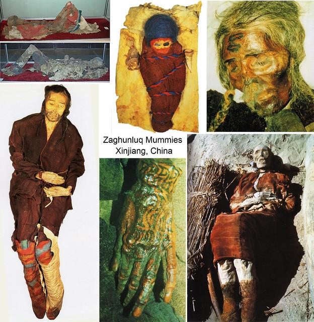 Zaghunluq Tarim Mummies, Cherchen / Qiemo, Xinjiang, China