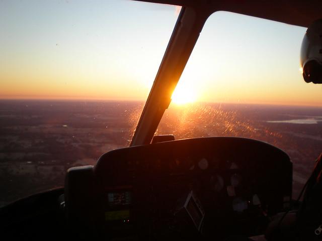Sunrise Scene flights