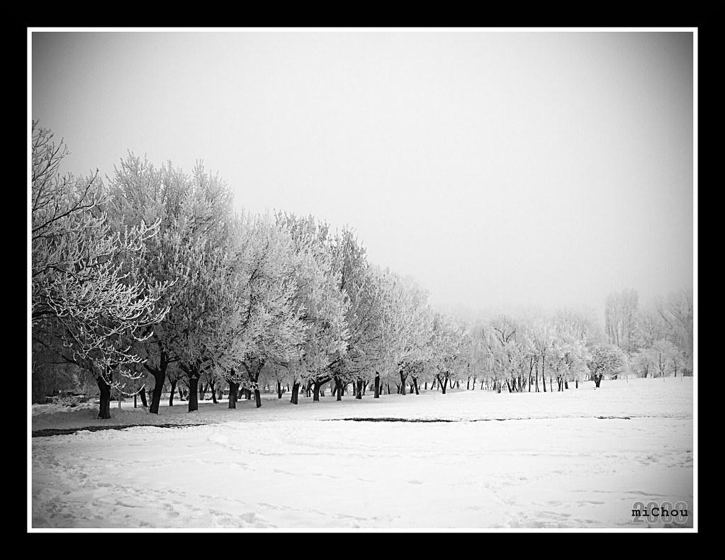 Winterscape by m!Chou