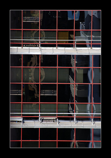 squares in a window