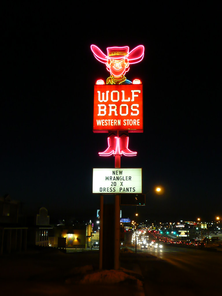 Lighting Stores Omaha >> Omaha Ne Wolf Brothers Western Store Sign Army Arch Flickr