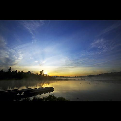 morning sunrise landscape dawn britishcolumbia explore frontpage burnabylake canonef1740mmf40lusm piperspit kvdl