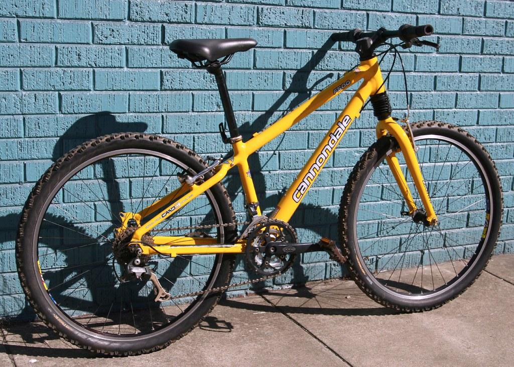 256d4f18d39 Cannondale F500 MTB | Lighter than many steel road bikes | Peter Chu ...