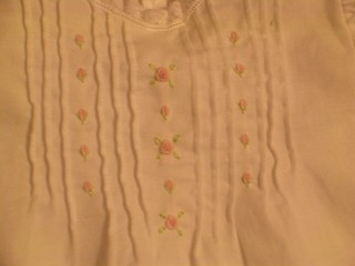 Hannah Rose's Dress Detail