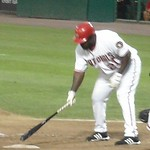 Dmitri Young up to bat