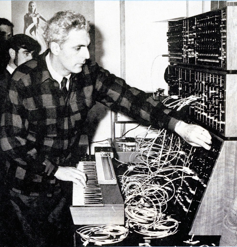 Robert Moog | Happy at his work! | Neil Vance | Flickr