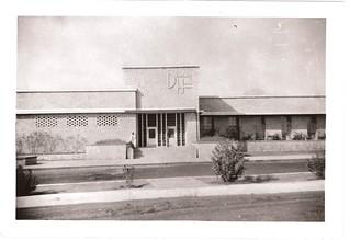 Dhahran Air Field, 1947....Dining Hall