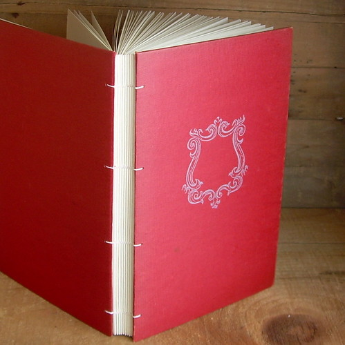 Red Vintage Frame Journal