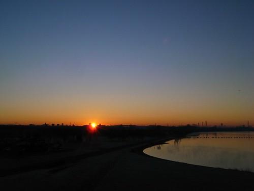 digital sunrise first gr saitama 2008 saiko ricoh urawa hatsuhinode 初日の出 埼玉 浦和 彩湖