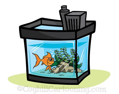 Cartoon Aquarium Illustration This Cartoon Aquarium Fishta