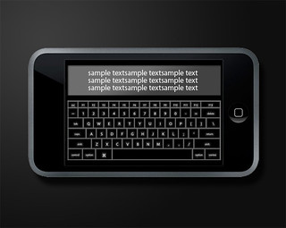 horizontal keyboard app for iPhone | by mac_fun