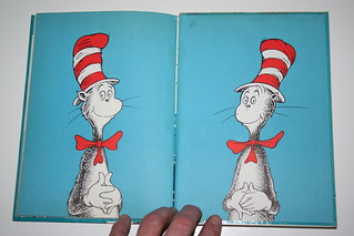 """Cat in the Hat"" Third Printing Front Cover 