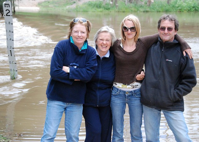 We Couldn't Ford the River so We Thought We'd Smile Instead!