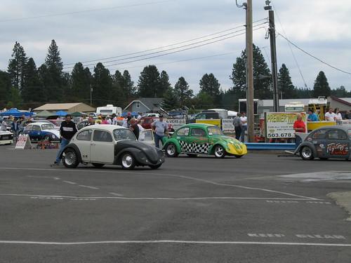 Volkswagon Drag Races, Woodburn OR