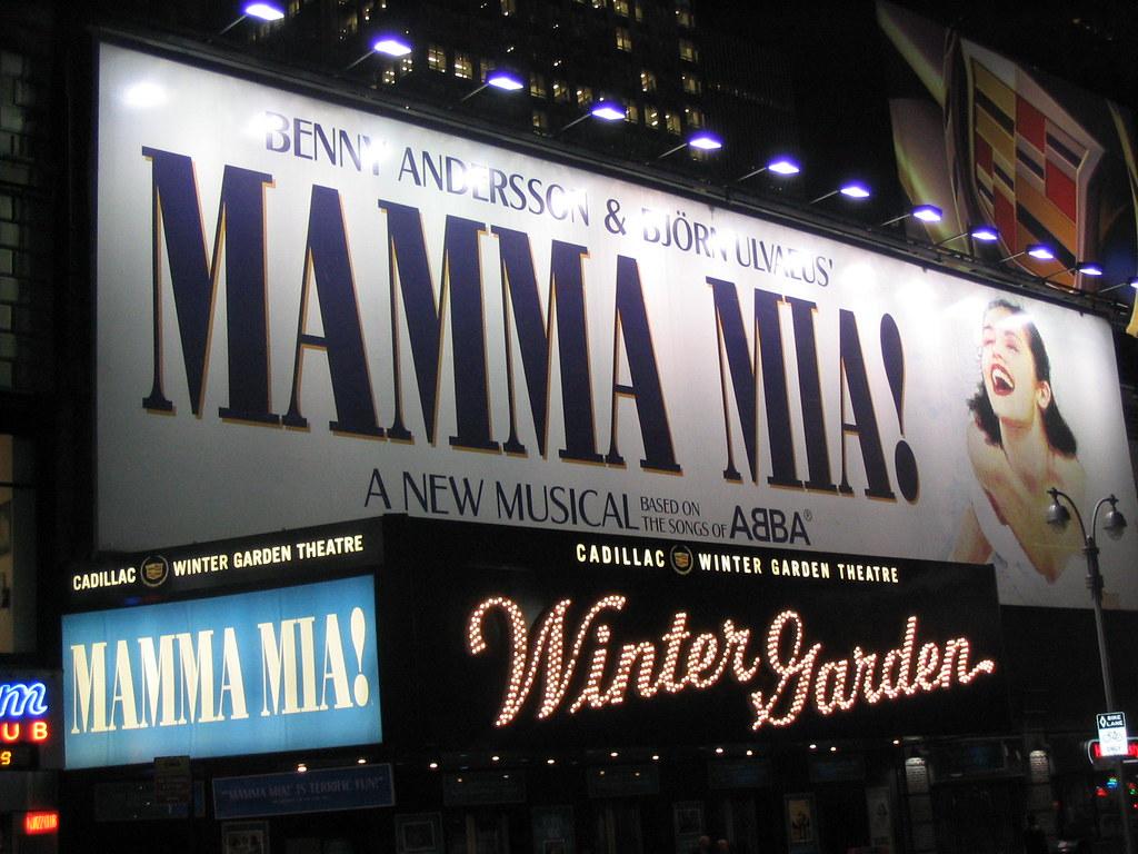 Mamma Mia At The Winter Garden Theatre Mamma Mia A Musica Flickr