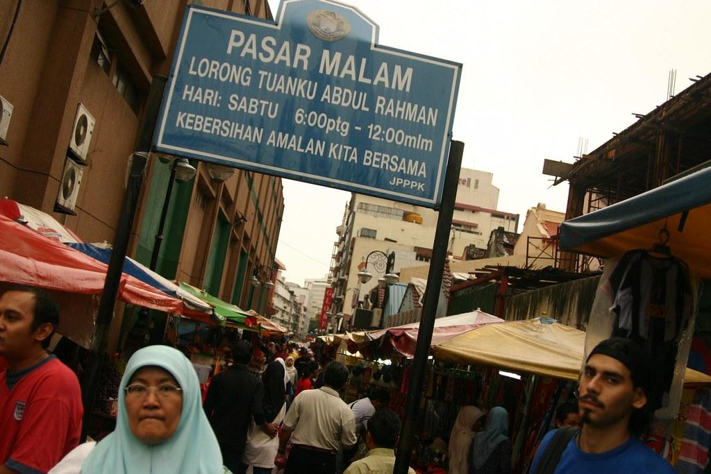 Malaysia-Kuala Lumpur(Pasar Malam Market)
